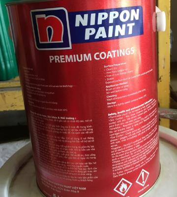 Sơn phản quang Nippon màu đen