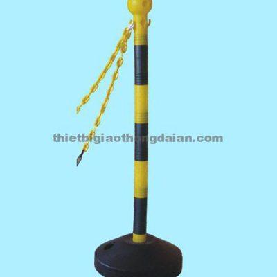 Cọc tiêu nhựa – Cột nhựa 002 đa năng tùy chỉnh độ cao, cân nặng